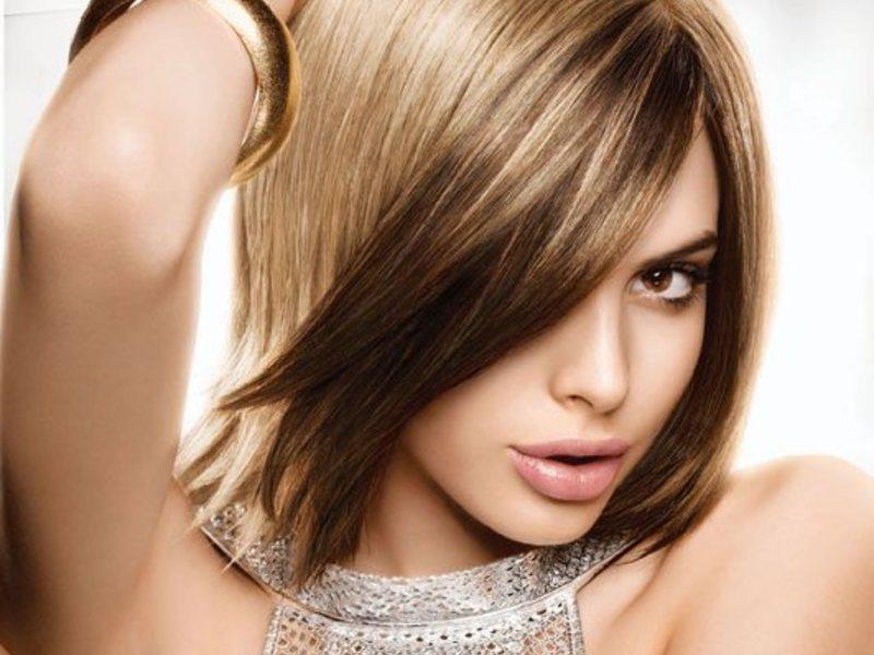 Окрашивание волос Matrix